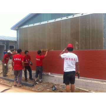 Prefabricated House /Wall Facade Panel /PU Sandwich Wall Panel