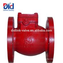 Air Compressor Duckbill Plástico Wafer Balanço Vertical Ferro Fundido Ji 4 Bola de Verificação Válvula de Direção