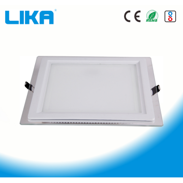 18W quadratisches Glas LED-Panel-Licht