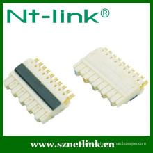 5 pares de terminais de conexão de 110 fios