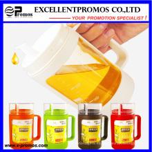 Logotipo personalizado colorido 350ml Vaso de aceite de cristal venta caliente (EP-LK57276)