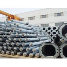 132kV Electric Galvanized Steel Tubular Pole
