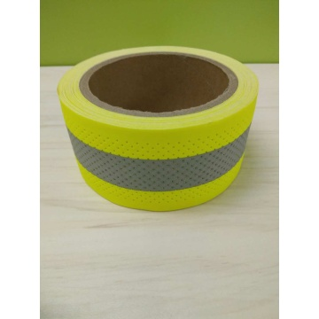 Hollowed Flame Retardant Warning Reflective Tapes