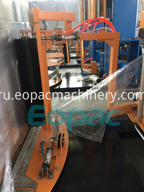 Automatic Pallet Stretch Wrapping Packing Machine