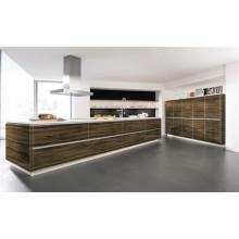 Gabinetes de cocina modulares de alto brillo para muebles de casa (a medida)