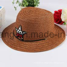 Sombrero de paja modificado para requisitos parti gorros bordados