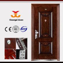 ISO9001 puerta de acero galvanizado resistente a la corrosión