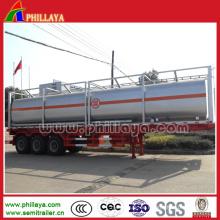 Tankwagen-Transport-chemischer flüssiger Säure-Tank 20-50