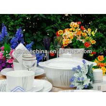 Venta al por mayor en relieve plata forma cuadrada porcelana nuevo producto
