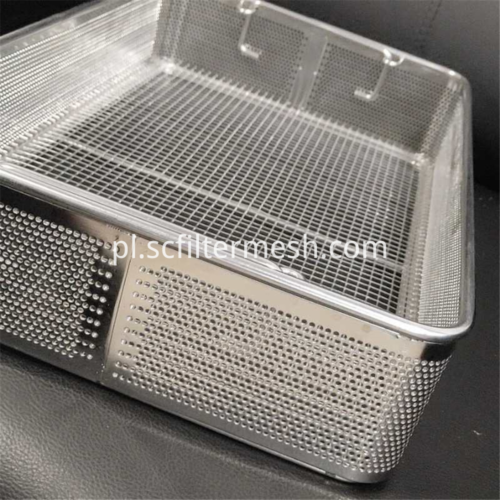 Perforated Plate Basket