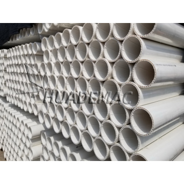 PVC Spiral Muffle Pipe Extrusionsleitung