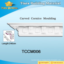 Great stability Cornice PU Cornice Mouldings with different colors