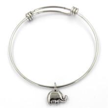 Bracelete barato da forma do aço inoxidável para presentes da promoção