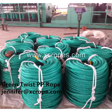 Green Twist PP Rope