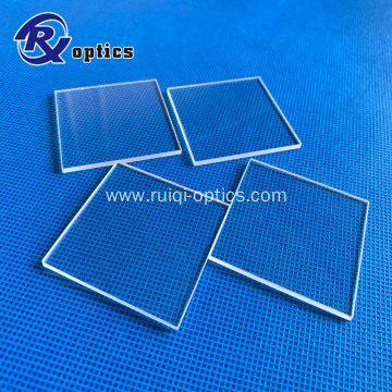 Round Square Glass  UV Fused Silica Window