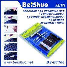 Ремонтный комплект для аварийной пробивки шин для автомобилей 7PCS для автомобилей с 3 полосками