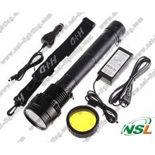 Lanterna HID 24W / 35W / 50W / 65W / 75W / 85W com Bateria Recarregável