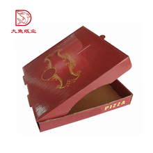 Top-Qualität maßgeschneiderte Logo dekorative wiederverwendbare Lebensmittel Pizza Papier Box Bild