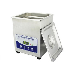 Digital control ultrasonic cleaner with heating function in different styles made of stainless steel