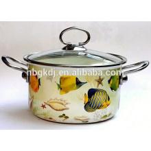 safety enamel pot belly stove