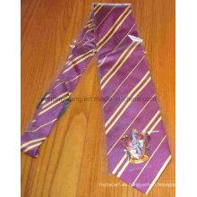 Corbata de seda personalizada de la impresión de los hombres