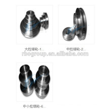 tungsten carbide step cone pulley