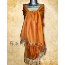 Solid color viscose fashion stoles