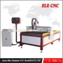 Jinan Gantry Type Flame / Plasma CNC Cutting Machine for stainless steel