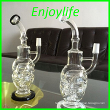USA Hot Selling Skull Design Glass Pipes, Glass Water Pipe en Stock