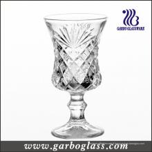 Coupe en verre à vin gravé à 4 oz (GB040304ZH)