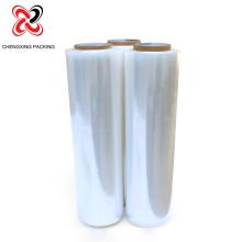 Kundengebundene transparente Plastikstretchfolie mit Papierkern