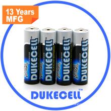 1.5V Lr6 AA Alkaline Batterie China Markt von elektronischen