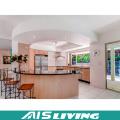 U-Shape Double Colour Kitchen Cabinets Furniture (AIS-K973)