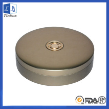 Round Best CD Storage Gift Case de metal