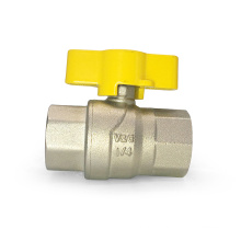 Wholesale China Manufacturer Durable Stainless Steel Nut Butterfly Handle Gas Brass Ball Valve