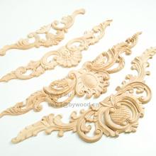 Decoración esculpida exquisita madera onlay.