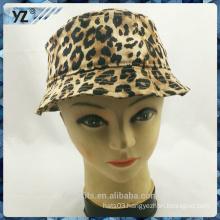 2016 new design with Leopard logo bucket cap women cap