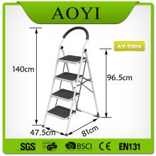 4 steps steel ladder