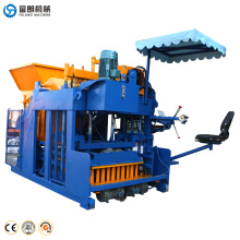 cheap machines to make money FL10-15 automatic concrete block machine in kenya