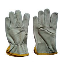 Gants de sécurité pour le travail du cuir grain de porc Gants pour la conduite