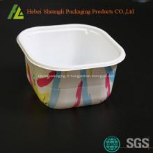 Jetables en plastique pour aller les contenants alimentaires