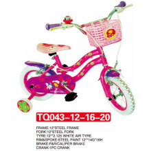 Neumático de aire blanco de la bicicleta Princess Kid