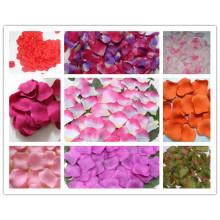 Pétalos de rosa de seda