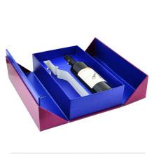 Custom Recycle Cardboard Paper Wine Box For Bottle