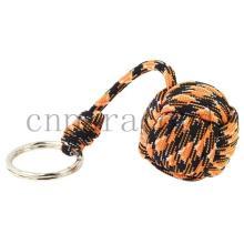 """Оранжевый камуфляж обезьяна кулак 6--9"""" длиной 1,5"""" стальной шарик"""