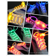 China Lieferant LED Party Favor Low Cost wasserdichte LED Shoestring