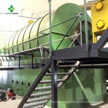 Máquina de pirólisis para reciclar Tetra paquete de papel de aluminio para aluminio