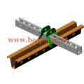 HDG Strut Channel Roll formant la machine de production Thaïlande