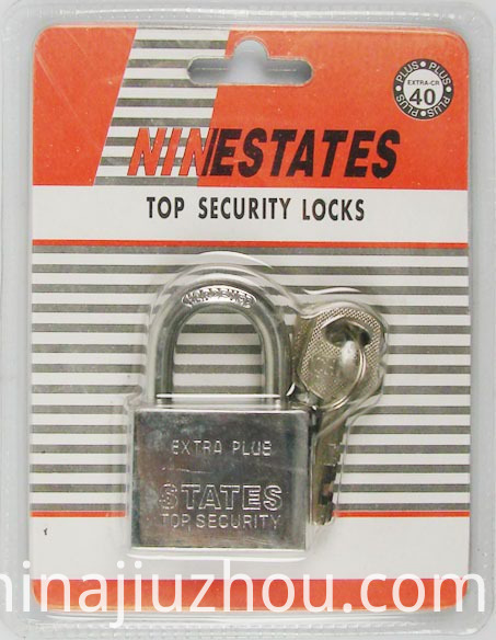 Hot Product Square Shape Iron Padlock