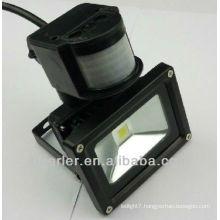 IP65 50w led motion sensor flood light black/silver